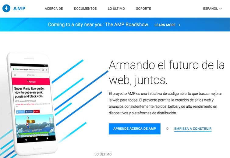 Web Oficial AMP
